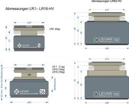 Levar Resonance Magnetic Absorber 4er-Set