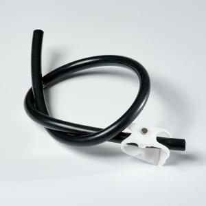 Nessie/HANNL - Schlauch schwarz mit Klemme
