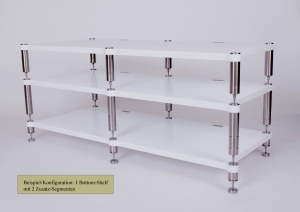 NEO Highend Audio Rack System - Double Quattron Glossy