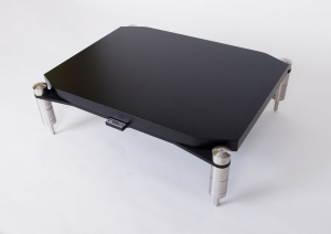 NEO Highend Quattron Reference - Shelf for Turntable 600 - Black Diamond